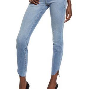 Good American Good Legs Cascade Hem Jeans